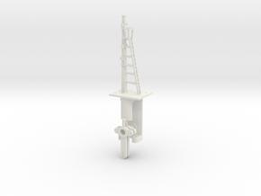 Signal 18 Ft Post 2 Arms HO NSWGR LQ in White Natural Versatile Plastic