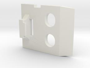 Ikea KVARTAL Hardware Replacement Part 2 in White Natural Versatile Plastic