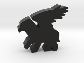 Game Piece, Hippogriff in Black Natural Versatile Plastic
