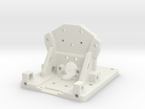 Prusa Chimara Bracket in White Strong & Flexible