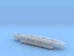 "Midget Submarine Type XXVII B5 ""Seehund"" 1/144 in Smooth Fine Detail Plastic"