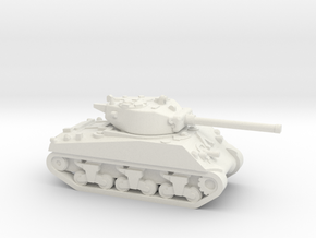 M4A3  Sherman 76 in White Natural Versatile Plastic
