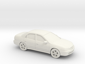 1/87 1997-02 Honda Accord Sedan in White Natural Versatile Plastic
