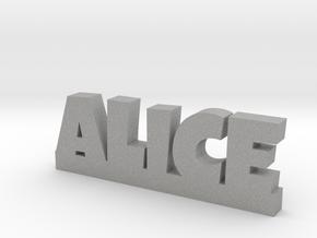 ALICE Lucky in Aluminum