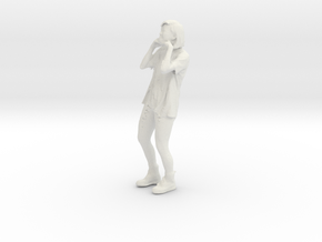 Printle C Femme 031 - 1/18 - wob in White Natural Versatile Plastic