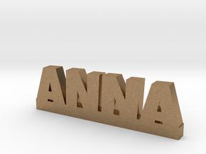 ANNA Lucky in Natural Brass