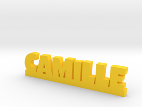 CAMILLE Lucky in Yellow Processed Versatile Plastic