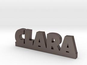 CLARA Lucky in Polished Bronzed Silver Steel