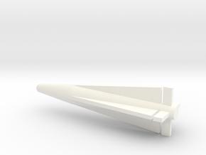 1/72 Scale GAR-11 AIM-26A Nuclear Falcon Missile in White Processed Versatile Plastic