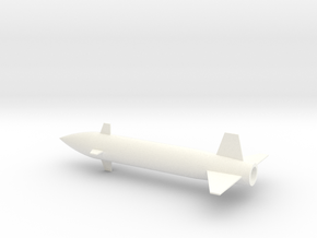 1/72 Scale Bell ASM-A-2 GAM-63 Rascal Missile in White Processed Versatile Plastic