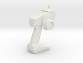 1/10 Spektrum DX6R Remote in White Natural Versatile Plastic