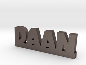 DAAN Lucky in Polished Bronzed Silver Steel