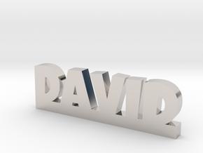 DAVID Lucky in Platinum
