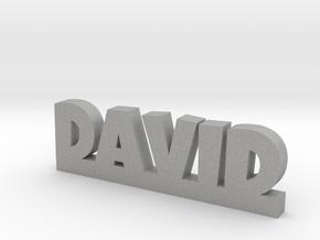 DAVID Lucky in Aluminum