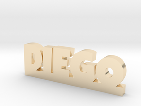 DIEGO Lucky in 14K Yellow Gold