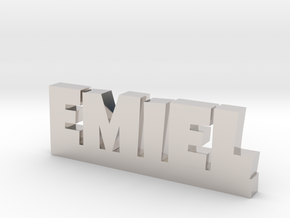 EMIEL Lucky in Platinum
