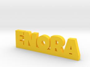 ENORA Lucky in Yellow Processed Versatile Plastic