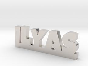 ILYAS Lucky in Platinum