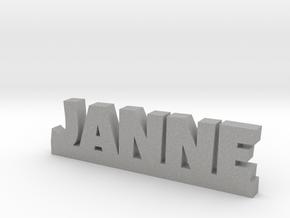 JANNE Lucky in Aluminum