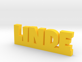 LINDE Lucky in Yellow Processed Versatile Plastic