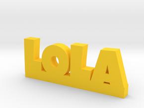 LOLA Lucky in Yellow Processed Versatile Plastic