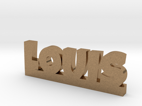 LOUIS Lucky in Natural Brass
