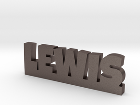 LEWIS Lucky in Polished Bronzed Silver Steel
