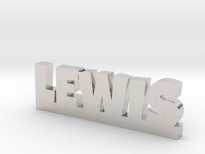 LEWIS Lucky in Platinum