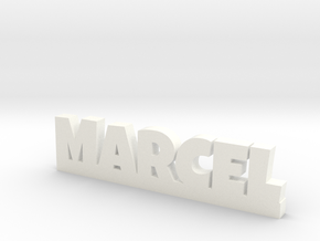 MARCEL Lucky in White Processed Versatile Plastic
