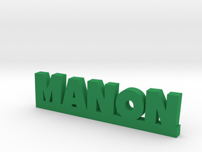 MANON Lucky in Green Strong & Flexible Polished