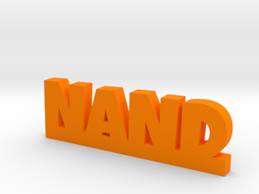 NAND Lucky in Orange Processed Versatile Plastic