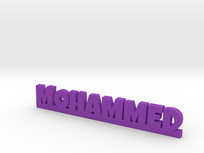 MOHAMMED Lucky in Purple Strong & Flexible Polished