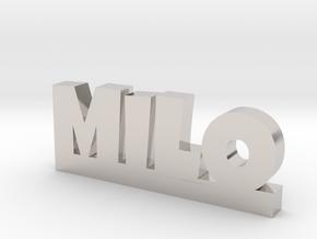 MILO Lucky in Platinum