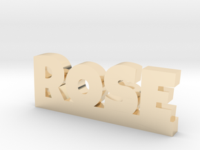 ROSE Lucky in 14K Yellow Gold