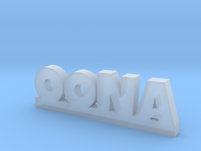 OONA Lucky in Smooth Fine Detail Plastic