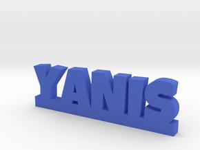 YANIS Lucky in Blue Processed Versatile Plastic