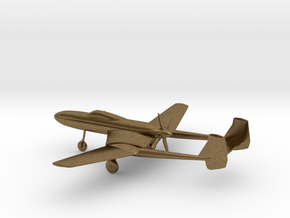 Vultee XP-54 Swoose Goose in Natural Bronze: 1:200