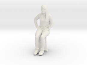 Printle C Femme 046 - 1/43 - wob in White Strong & Flexible