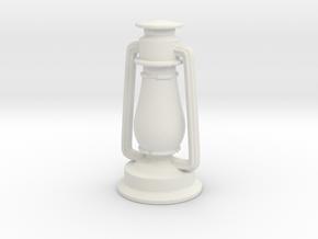 Printle Lantern in White Strong & Flexible