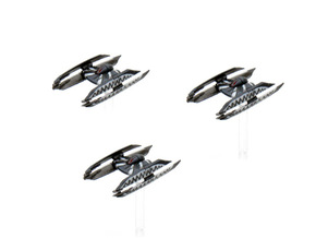 HyenaBomber-3pack 1/270 in Smoothest Fine Detail Plastic