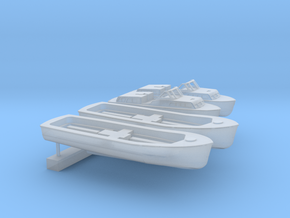 1:350 Scale Supercarrier Boat Set in Smooth Fine Detail Plastic