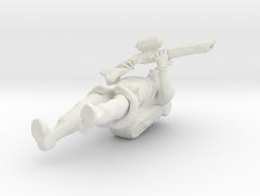 28mm Steampocalypse: Royal Marine in White Natural Versatile Plastic