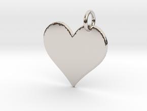 Creator Pendant in Platinum: Large
