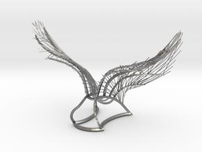 Original Angel Wings in Natural Silver