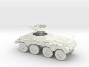 VBA Sd.Kfz. 234/1 german armoured car 1:48 28mm  in White Natural Versatile Plastic
