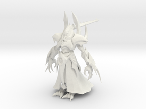 1/35 Alarak Standing Pose in White Natural Versatile Plastic