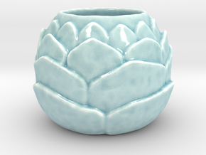 Scale Mug  in Gloss Celadon Green Porcelain