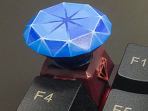 Diamond Keycap in Smoothest Fine Detail Plastic