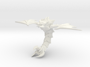 1/144 Zerg Mutalisk in White Natural Versatile Plastic
