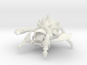 1/60 Zerg Roach in White Natural Versatile Plastic